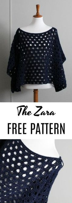 Want a Dreamy New Design for Those Cooler Summer Nights? Make Yourself the Zara Pullover Today! -