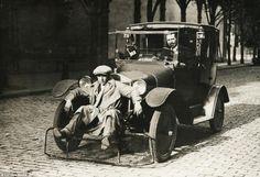 Para-choque humano - 1920