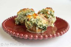 Tuscan Stuffed Mushrooms are a quick & easy side or app with a ton of flavor. Sundried tomatoes, spinach, garlic, & cheese fill tender button mushrooms.