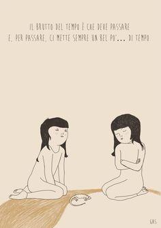 """Il_tempo_per_passare  Frase tratta dal libro """"Che animale sei?Storia di una pennuta""""di Paola Mastrocola"""