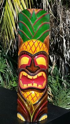 22 best tiki masks images on pinterest painted wood tiki mask and