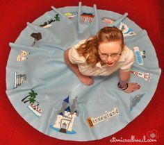 hand-painted Disneyland circle skirt i LOVED circle skirts! Vacation Outfits, Disney Outfits, Disney Clothes, Disney Fashion, Emo Outfits, Disney Nerd, Disney Diy, Disney Crafts, Vintage Wardrobe