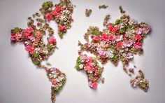 thumb2-world-map-from-flowers-world-map-creative-world-map-continents.jpg (710×444)