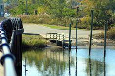 Water Reflections - Raritan Bay Waterfront Park - South Amboy NJ