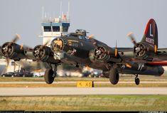(Commemorative Air Force) Boeing B-17G Flying Fortress (299P)  Lakeland - Linder Regional (LAL / KLAL) USA - Florida, April 4, 2014