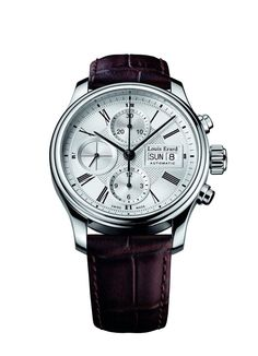 Men watches : Louis Erard Heritage Collection Swiss Automatic White Dial Men's Watch 78259AA21.BDC21