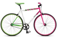 Court bought me this bike & I LOVE it!!!  It is a single speed, but I love it way more than my mountain bike!!!  It's even smoother and easier to ride up the hills. :)