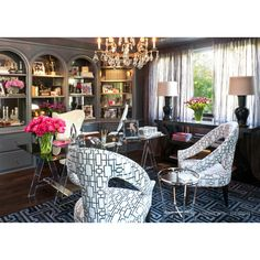 A touch of Luxe: Celeb home - The home of Kris and Bruce Jenner... via Polyvore