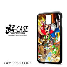 Mario Bross Game DEAL-6888 Samsung Phonecase Cover For Samsung Galaxy S5 / S5 Mini