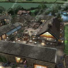 Soho Farmhouse is a members' club set in 100 acres of Oxfordshire countryside, with bedrooms, a pool, spa and gym. Soho Farmhouse Interiors, Farmhouse Restaurant, Soho House, Park Homes, Farm Yard, Land Scape, Great Places, Future House, Exterior