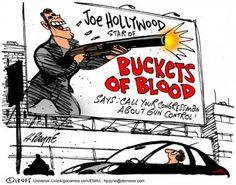 #hollywood #Gun #Control #Cartoon #Funny #Humor #Laws
