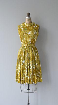Sonneveld dress vintage 60s dress floral print by DearGolden