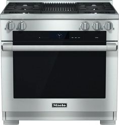 Miele 30 Inch Pro-Style Induction Range with 4 Cooking Zones, TwinPower Convection Fan Oven, TwinBooster Function, 21 Operating Modes, Wireless Roast Probe and Self-Clean: Stainless Steel Range Cooker, Electric Oven, Oven Cleaning, Oven Range, Kitchen Appliances, Kitchen Ranges, Kitchen Sink, Furniture, Kitchens