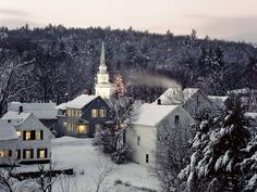 Picture perfect--snowy Vermont morning.