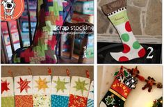 How to Sew a Handmade Christmas Stocking {12 patterns}