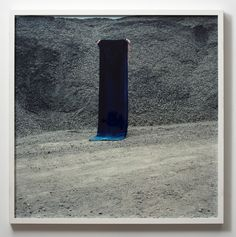 'Grey stones and blue velvet', 2008 Layla Rudneva-Mackay c-type photograph, edition of 8 1145 x 1145mm