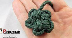paracord star knot - kunne være rigtig søde i tyndt snor til øremringe - skal laves