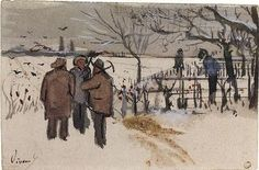 Vincent Van Gogh Winter by susie                                                                                                                                                                                 More