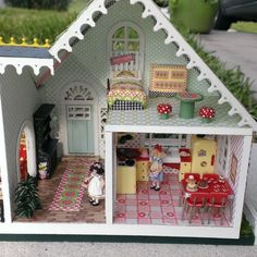 Dollhouse Miniature ME 1/4 Scale House by MiniEstates on Etsy