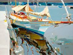"""'here to stay'Acrylic on canvas36x48""""by Josef Kote"""