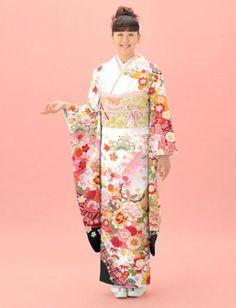 kawaii kimono : furisode : Mao Asada ( #FigureSkater #Japan #kimono #furisode #GoMao #MaoFight )