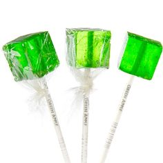 Cube Lollipops - Green