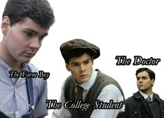 Gilbert Blythe.... What about the crushing 14-year old? (Yes, I know he's sixteen at the beginning of the movie, but he's not in the book!) ;)