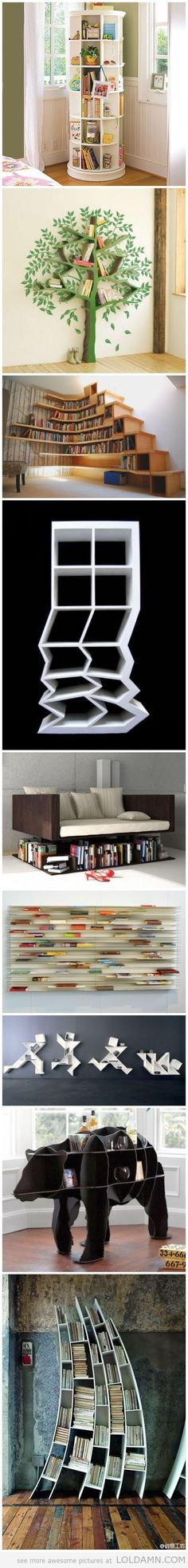 Awesome Bookcases!