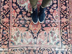 """Hey there, it's Friday!!! Also, check out the """"Cedar"""" rug that just made its way into Shoppe"""