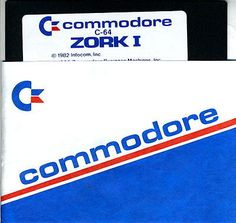 COMMODORE C-64 ZORK I GAME ON 5-1/4 INCH FLOPPY DISK - http://electronics.goshoppins.com/vintage-computing/commodore-c-64-zork-i-game-on-5-14-inch-floppy-disk/