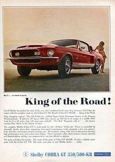 Shelby GT500-KR - advertising