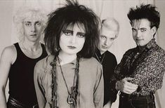 Photo - Tom Sheehan Siouxsie and the Banshees  Robert Smith The Cure