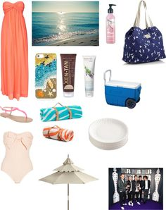 """""""At the beach with One Direction"""" by aprilmarieblack ❤ liked on Polyvore"""