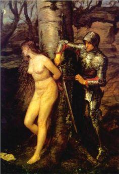 The Knight Errant - John Everett Millais