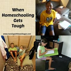 If you've been homeschooling for longer than a week, I'm sure you realize that homeschooling is hard.  Some days are just tough.  Whether it is children who just aren't learning w…