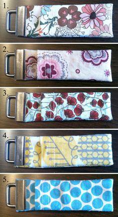 Chapstick Cozy Keychain by PlumRuffle on Etsy, $5.00
