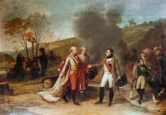 Antoine-Jean Gros - The Interview Between Napoleon I and Francis II after the Battle of Austerlitz, December 4, 1805 [1812]