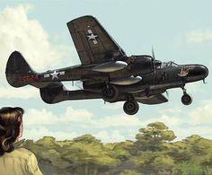 Northrop P-61 Black Widow ~ BFD