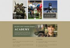 military site design