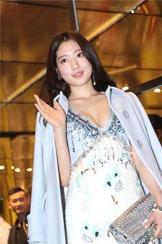 Park Shin Hye attends Miu Miu event at Hong Kong