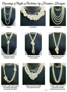 Premier Design Opening Night necklace. Classic and so many ways to wear it.