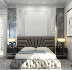 51 Luxury Bedrooms With Images, Tips & Accessories To Help You Design Yours - Archi-Moze Bedroom Furniture Design, Bedroom Interior, Bedroom Design, Bed Furniture Design, Luxurious Bedrooms, Luxury Bedroom Furniture, Master Bedrooms Decor, Furniture Sets Design, Bed Headboard Design