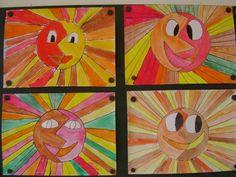 podzimní sluníčka C2c, Art For Kids, School, Artist, Art For Toddlers, Art Kids
