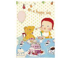 Teddy & pige, Enkelt Kort