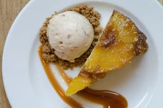 at Cakes & Ale, Atlanta: Warm Bourbon Pineapple Upside Down Cake ...