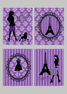 Paris Wall Decor, French Child Room, French Nursery Decor, Paris Nursery Decor, P… - Decor Ideas Paris Room Decor, Paris Rooms, Paris Bedroom, Paris Theme, Bedroom Decor For Teen Girls, Teen Room Decor, Teen Girl Bedrooms, Bedroom Themes, Bedroom Ideas