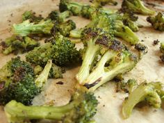 Spiced Roasted Broccoli (From the Freezer!)