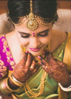 """Photo from Bride with Pride Makeup by Anu and Ridhi """"Portfolio"""" album Indian wedding maang tikka for bride Wedding Invitation Maker, Create Wedding Invitations, Lehenga Wedding, Groom Wear, Indian Wedding Outfits, Photo Makeup, Wedding Preparation, Wedding Jewelry, Real Weddings"""