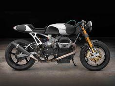 Moto Guzzi 1100 Sport Cafe Racer by Moto Studio #motorcycles #caferacer #motos | caferacerpasion.com