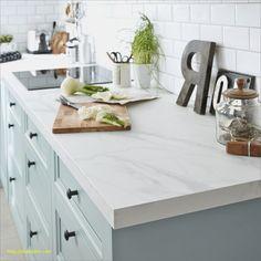 Revetement Plan De Travail Cuisine Beau Plan De Travail Stratifié Effet Marbre Blanc Mat L 315 X P 65 Cm : Photos de conception de cuisine